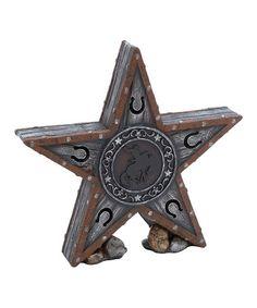 http://www.zulily.com/invite/astitt678 Look what I found on #zulily! Wild West Rodeo Star Figurine #zulilyfinds