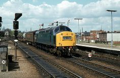 BR Class 40 40196 Ipswich//.,MAR16