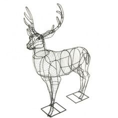 Deer (Stag) Large Topiary frame