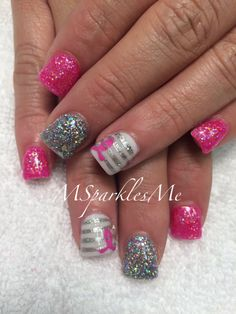 Breast Cancer Awareness nails 2014