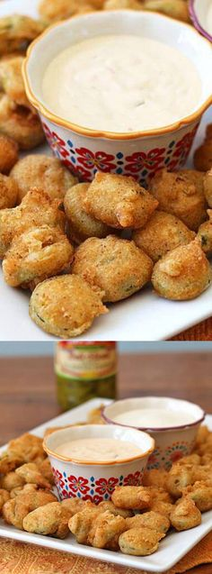 If you love deep fried appetizers then you're really going to love these Crispy Fried Jalapeno Slices from Amanda's Cookin! They've got quite a kick to them and pair perfectly with your favorite dipping sauce!