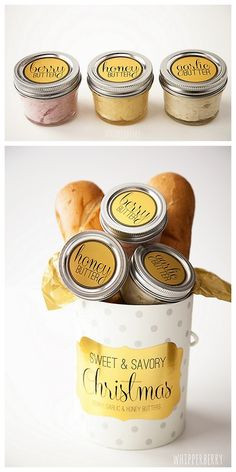 diychristmascrafts: DIY Cheap and Easy Flavored Butter Recipes... - True Blue Me You: Unique and Doable DIYs from Around the World