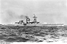 """""""Admiral Scheer"""" - Pocket battleship """"Admiral Scheer"""" sailed from Germany for the Atlantic and later Indian Oceans. She got back home in March 1941. Meanwhile German raider """"Widder"""" arrived in France after six month's operations in the central Atlantic where she sank or captured 10 ships of 59,000 tons."""