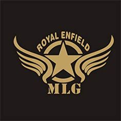 Star Wings Customized Royal Enfield Sticker_ Gold Color Standard Size For Sides Tank,Battery Cover Classic 350 Royal Enfield, Enfield Classic, Royal Enfield Stickers, Royal Enfield Logo, Art Painting Images, Bullet Bike Royal Enfield, Royal Enfield Modified, Enfield Himalayan, Cricket Wallpapers
