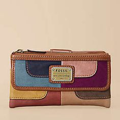 The Official Site for Fossil Watches, Handbags, Jewelry & Accessories Fossil Wallet, Fossil Watches, Fossil Handbags, Fossil Purses, Purse Wallet, Pouch, Girly Things, Girly Stuff, Cute Bags