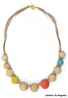 Le collier parfait pour les soirées sur la plage !! #ladroguerie #collier