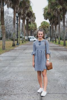 Gingham Shift Dress - - Pretty as a Peony: Gingham Shift Dress Source by Preppy Summer Outfits, Preppy Dresses, Simple Dresses, Spring Outfits, Cute Dresses, Casual Dresses, Short Dresses, Casual Outfits, Fashion Dresses