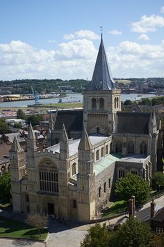 Rochester Cathedral, Rochester, Kent, England by Robert Mealing
