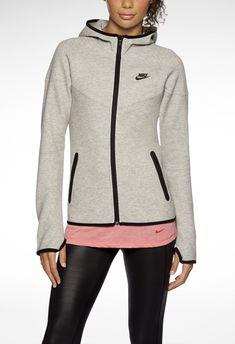 Nike Tech Fleece Windrunner Full-Zip. #nsw #nikesportswear #outerwear #hoodie #fleece