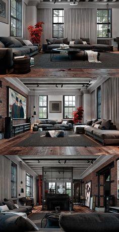 Loft apartment. YoDezeen. - Галерея 3ddd.ru