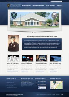 Police Department SEO Website Design at http://police.belchertown.org/wordpress