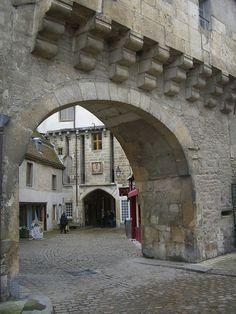 Porte Sauvigny – Semur-en-Auxois, France