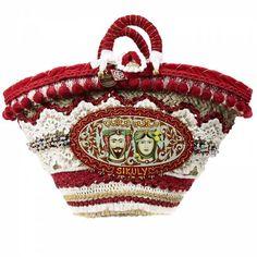 Borsa Donna Sikuly coffa siciliana decorata e dipinta a mano placca taormina | Borsa Sikuly COFFA in vendita online su Giglio.com