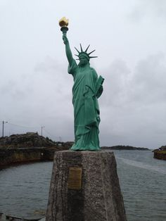 Statue of Liberty - replica from Karmøy, Norway
