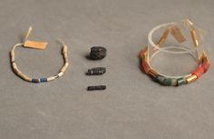 Earliest known iron artefacts come from outer space. Turns out that Egyptian iron beads come from meteorite pieces and not iron ore. The objects predate iron smelting by two millennia. The beads come from el_Gerzeh in Lower Egypt and found in 1911.