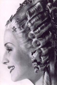 Norma Shearer in Marie Antoinette. 1936.