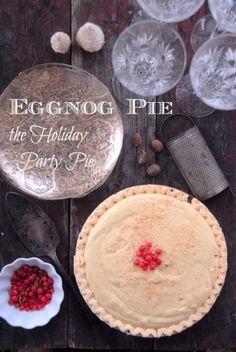 Eggnog Pie {the Holiday Party Pie!} | BoulderLocavore.com