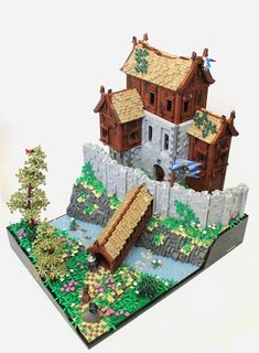 Lego Castle Moc , Darraor Castle, overview