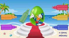 Aprendendo Cores para Crianças PINTANDO o Pato Donald