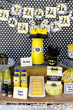 The Holy Smokes Batman Collection by pinkpeppermintprints on Etsy, $8.00