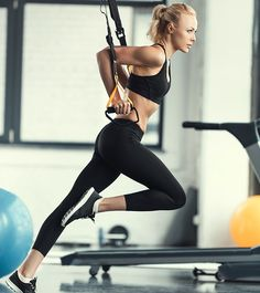 If you want to take your fitness to the next level, you MUST get a TRX. Don't confuse it with a T-Rex! While both can get you ripped, a portable TRX suspension band can fit in your gym bag (and keep you alive!).