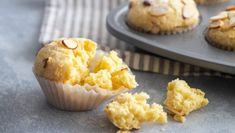Nonna's Lemon Almond Ricotta Muffins