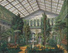 "E.P.Gau ""Winter Garden at the Hermitage Pavilion"" in 1865"