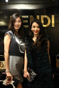 BAGUETTEMANIA event in Singapore - Fendi for Charmaine Harn and Marion Caunter