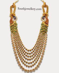 azva jewellery peacock designs