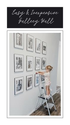 How to Make an Easy and Inexpensive Gallery Wall