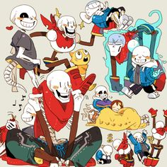 all skelebros all the time