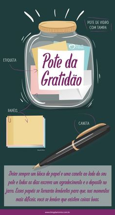 Mais um ano está para começar, é um ciclo que se fecha para dar espaço a outro, novinho em folha. E que tal começar o ano agradecendo? Pois é, temos a mania de pedir e fazer promessas, mas ser grato… Self Development, Feng Shui, Diy And Crafts, Stress, Mindfulness, Bullet Journal, Positivity, How To Plan, Instagram