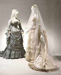 Bridal wear House of Worth 1879