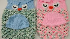 owl baby cocoon crochet - YouTube