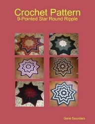 9 Pointed Star Round Ripple Afghan @ All Free Crochet, points to Ravelry but no images there will pick up:(