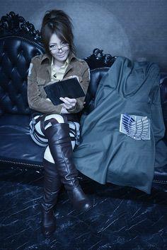 ハンジ - Tomoka Ayuri(Ayuritomoka) Hanji Zoe Cosplay Photo - Cure WorldCosplay