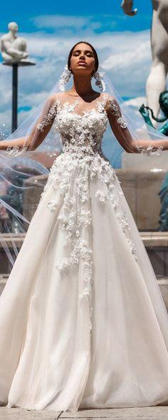 Katherine Joyce Ma Cherie Wedding Dress Rosetta / http://www.deerpearlflowers.com/katherine-joyce-wedding-dresses-2018/