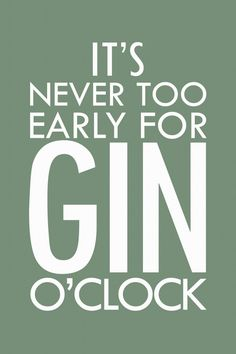 gin o'clock gin o'clock gin o´clock - Buscar con Google