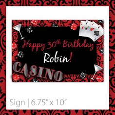 """Casino Party Sign . PRINTABLE . INSTANT DOWNLOAD . Casino Blush ~ Size: 10""""w x 6.75""""h ~ printable casino sign, printable casino, casino party sign, casino theme sign, printable sign, casino theme, casino party, casino night party, black casino sign, girls night out sign, las vegas sign, casino party printables, do it yourself casino, las vegas casino sign, poker night, casino theme, las vegas theme, roulette sign, modern casino sign, damask casino sign…"""