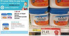 gerber deal @ target