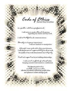0010 Personal & Professional Code of Ethics JPO Career