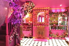 Entire home/flat in Tiptree, United Kingdom. Eaton House Studio delivers fully bespoke work and leisure experiences in extraordinary surroundings. Our home is THE pink house with flamingos and. Crazy Houses, Pink Houses, Kitsch, Eaton House, Hotel Ibiza, Essex Homes, Pink Palace, Barbie Dream House, Pink Room