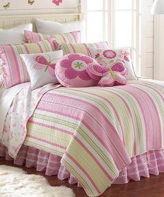 Loving this Mariposa Quilt Set on #zulily! #zulilyfinds