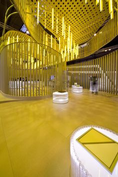 Paper Pavilion for Sika, Barcelona, 2010 by SMAR