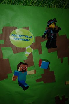 Lego and Minecraft: Let's create a better internet together.
