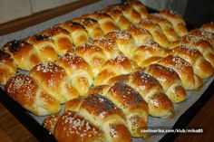 Recepty - Strana 2 z 44 - Vychytávkov Czech Recipes, Ethnic Recipes, Bread Rolls, Cake Cookies, Hot Dog Buns, Finger Foods, Amazing Cakes, Croissant, Bakery