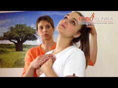 Automobilizace krční a přechodu krční/hrudní páteře - YouTube Pilates, Health, Fitness, Youtube, Anatomy, Salud, Health Care, Healthy, Excercise
