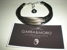 black GALVIA bracelet  http://www.etsy.com/shop/GARBAMORO