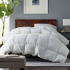 The Best Duvet Inserts: 7 Things to Look For (To Get a Fluffy, Hotel-Like Bed)!   Driven by Decor Linen Bedroom, Bedroom Decor, Bedroom Ideas, Bedroom Furniture, Weighted Comforter, King Size Comforters, Driven By Decor, The Company Store, Down Comforter
