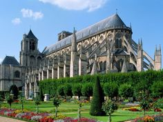 Bourges Cathedral, Bourges, France